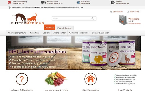 Seo-Beratung Content-Marketing Futtermedicus
